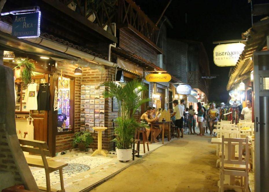 Noite em Jericoacoara
