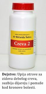 Creva 2, preparat za čišćenje creva