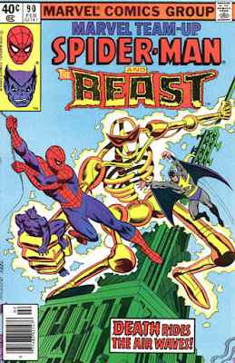 Marvel Team-Up #90, Spider-Man and the Beast