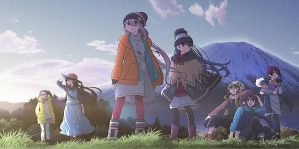 Anime Yuru Camp Season 2 Show Newest Visual