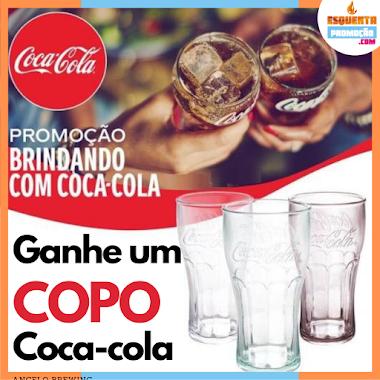 PROMOÇÃO - Ganhe um COPO Exclusivo Coca Cola