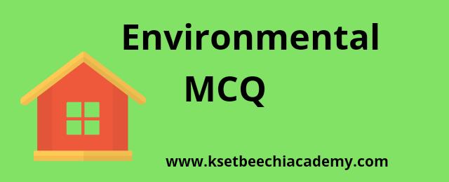 environmental-mcq-net-upsc-kpsc