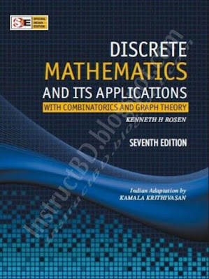 Discrete Mathematics and It's Application Book by Kenneth H. Rosen (7th Edition)
