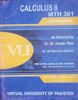 MTH301 Calculus 2(II) - VU Bookshop