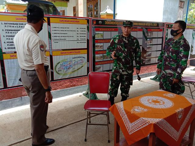 Letkol Inf Iksan Agung Widyo Wibowo, S.I.P. Perintahkan Pembenahan Data Yang Ada di Pos Kotis