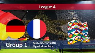 مشاهدة مباراة فرنسا والمانيا بث مباشر بتاريخ 06-09-2018 دوري الأمم الأوروبية
