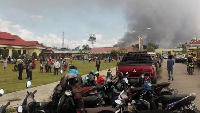 Soal Tragedi Wamena, Jokowi Sebut Ada yang Turun Gunung