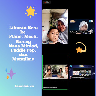 Liburan virtual ke Planet Mochi