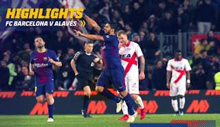 Barcelona vs Alaves 2-1 Highlights