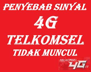 4 Penyebab Sinyal 4G Telkomsel Tidak Muncul dan Cara Mengatasinya