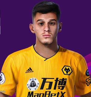 PES 2020 Faces Meritan Shabani by Rachmad ABs