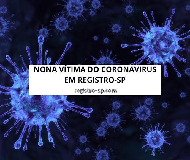 Nona vítima do Coronavírus em Registro-SP