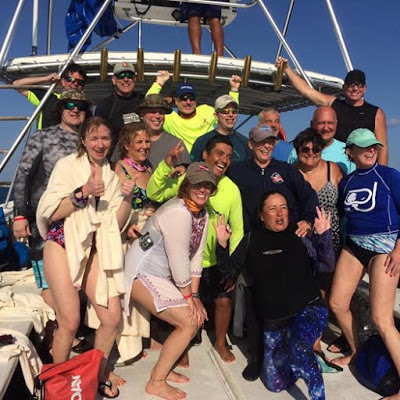 People on Dive Boat