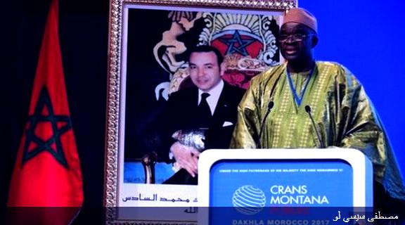 رئيس برلمان سيدياو يؤكد على دعمه لعضوية المغرب