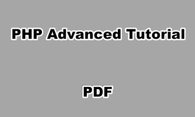 PHP Advanced Tutorial PDF