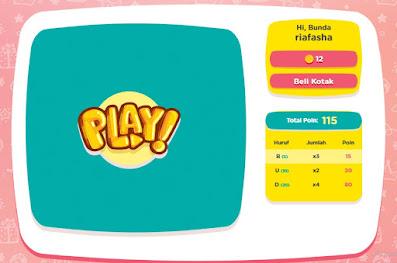 tampilan game kado dari bunda di panduanbunda.com