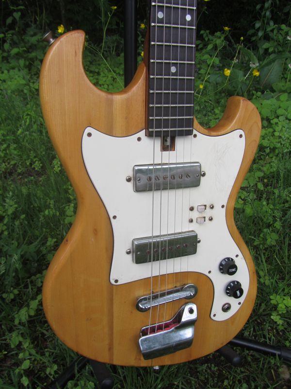 Jake Wildwood C 1965 Teisco Made Solidbody Electric Guitar