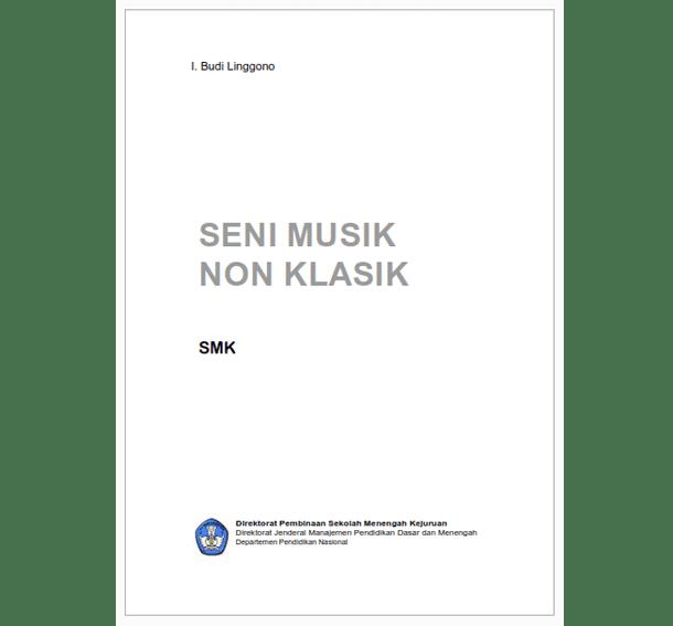 Buku SMK Seni Musik Non Klasik