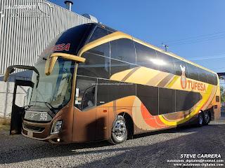 Linea: Tufesa Autobus: Volvo 9800 DD Autor: Steve Carrera