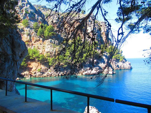 Port de Sa Calobra Mallorca Balearen Spanien