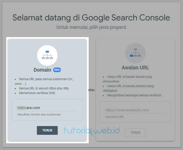 Cara Mendaftarkan Wordpress ke Google 1 Pilih Terus
