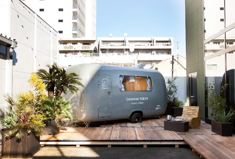 Airbnb Caravan Tokyo