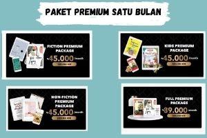 Paket Baca Premium Bulanan