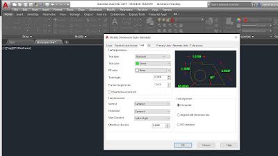 HOW- TO- SET -DIMENSION -STYLE -IN- AUTO- CAD