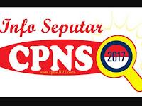 ( CEK FORMASINYA DISINI ) Pemerintah Telah Resmi Membuka Pendaftaran CPNS 2017