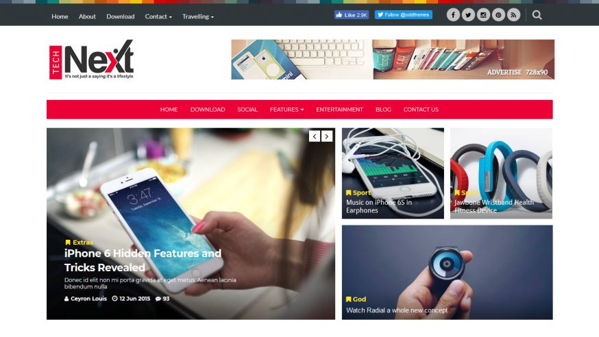 Tech Next Blogger Template Free Download -5+ Most Used Best Free Blogger News Themes In 2021   Premium Responsive Blogger Templates