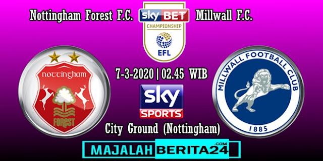 Prediksi Nottingham Forest vs Millwall