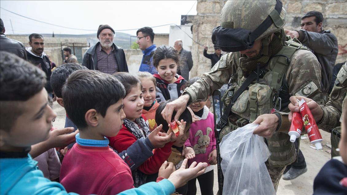 Media As: Hanya Pasukan Turki Yang Lindungi 5 Juta Warga Suriah Pengungsi Suriah