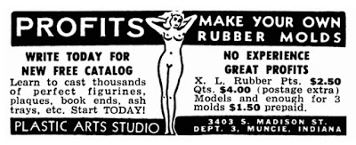 Profits - Make your own rubber molds