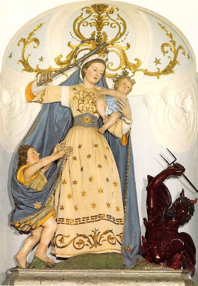 Madonna del Soccorso, Ascoli Satriano, Itália.