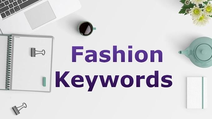 Fashion Keywords 2021
