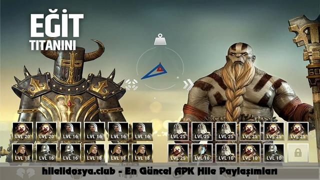 dawn of titans hile apk