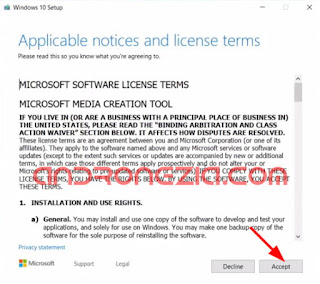 Download File ISO Windows 10 Dengan Windows Media Creation Tool