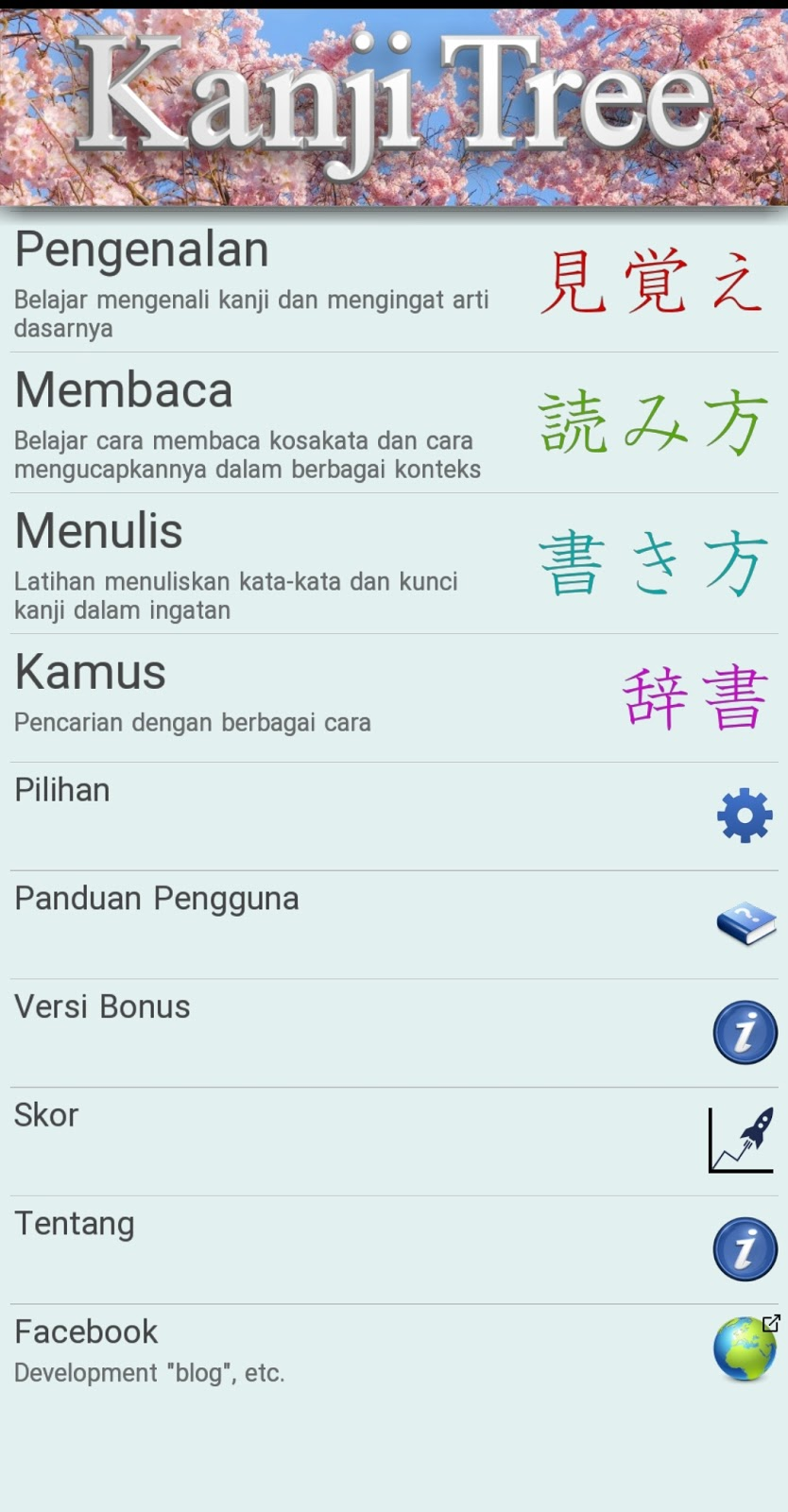 Review Aplikasi Android Belajar Menulis Kanji Jepang ...