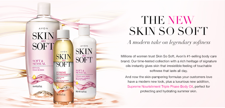 #Shop The Modern Avon Skin So Soft >>>
