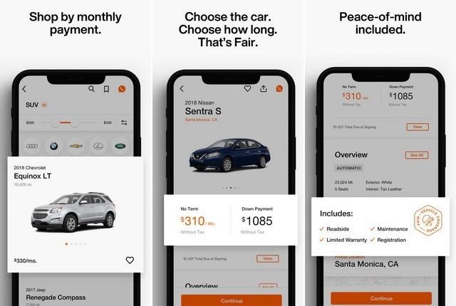 أفضل تطبيق لشراء السيارات للايفون