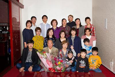 沖縄 生年祝い 家族写真 出張撮影