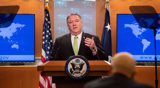 US Secretary of State Mike Pompeo decries China's security law as 'death knell' for Hong Kong autonomy