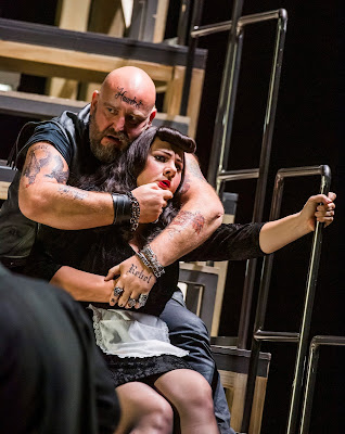 Martinu: The Greek Passion - Jeffrey Lloyd Roberts, Magdalena Molendowska - Opera North (Photo Tristram Kenton)