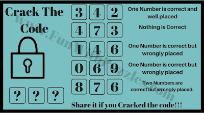 Crack the Code Puzzle Question