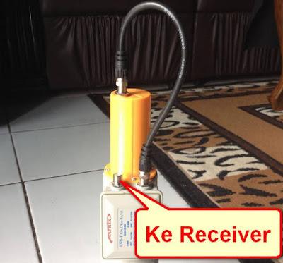 Menyambung Kabel Jumper LNB Combo
