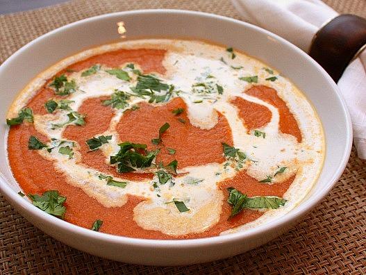 curried butternut lentil soup