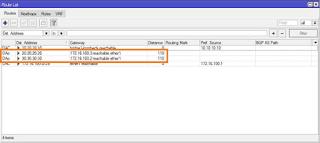cara memeriksa routing ospf untuk memastikan tembus atau tidak