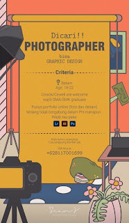Lowongan Kerja Sebagai Photographer