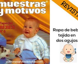 Revista con patrones para bebé | Dos Agujas