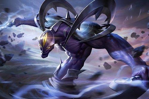 Các kỹ năng của Zill đều liên quan đến nguyên tố gió.